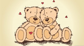 Bear and Love Image