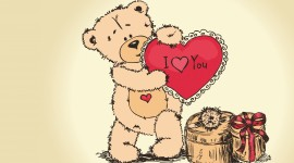 Bear and Love Image Download