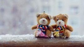 Bear and Love Wallpaper 1080p