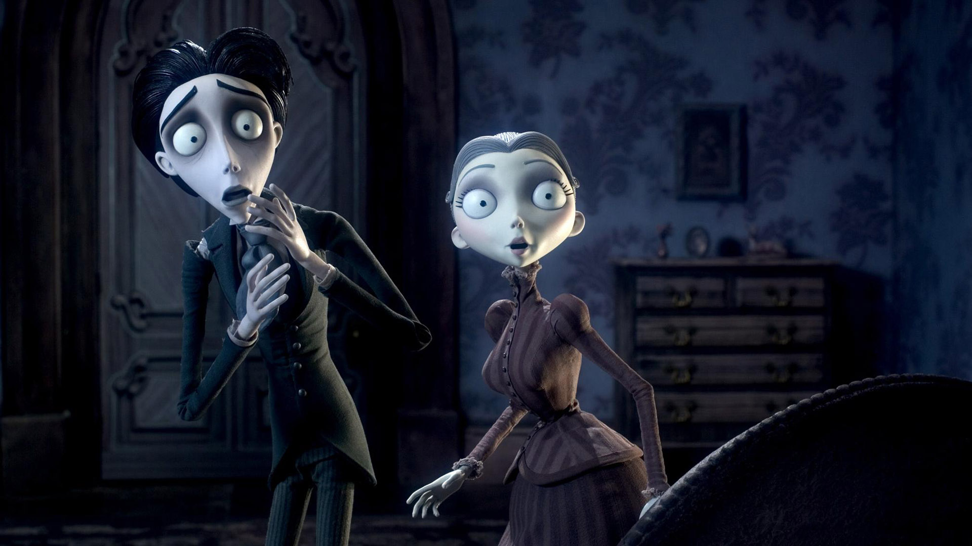 the real monsters in corpse bride a film by tim burton
