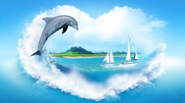 Dolphins High Quality Wallpaper