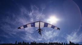 Hang Glider Desktop Wallpaper HD