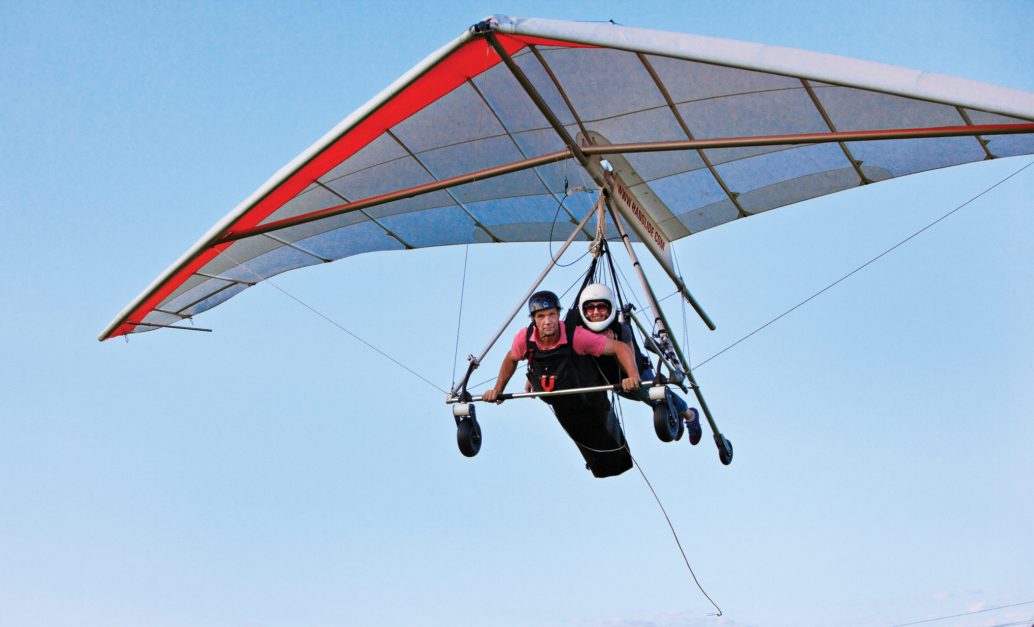 how to build a powered hang glider