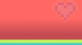Minimalism Pink Wallpaper