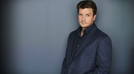 Nathan Fillion High Quality Wallpaper