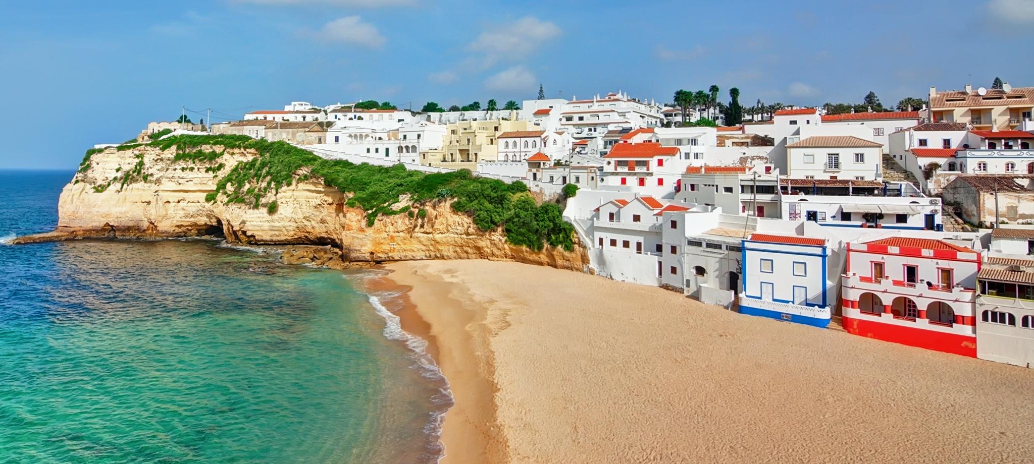 португалия курорты на берегу частности, домами