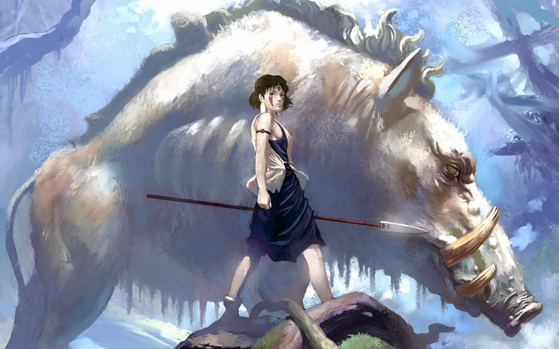 Princess Mononoke Wallpapers High Quality | Download Free