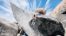 Rock Climbing Desktop Wallpaper