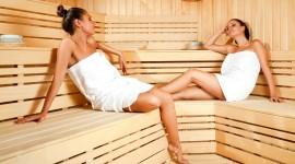 Sauna Wallpaper