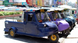 Taxi Tuktuk Wallpaper Full HD