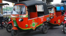 Taxi Tuktuk Wallpaper High Definition