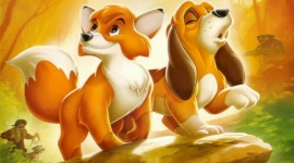 The Fox and the Hound Wallpaper For PC