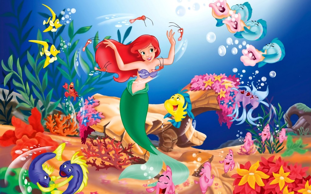 The Little Mermaid wallpapers HD