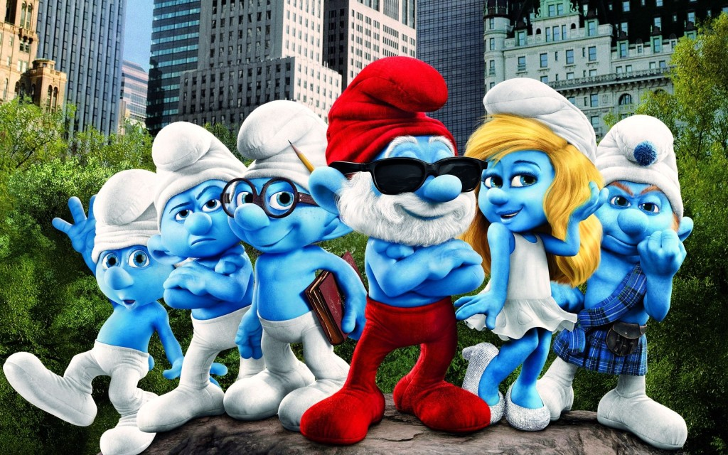The Smurfs wallpapers HD