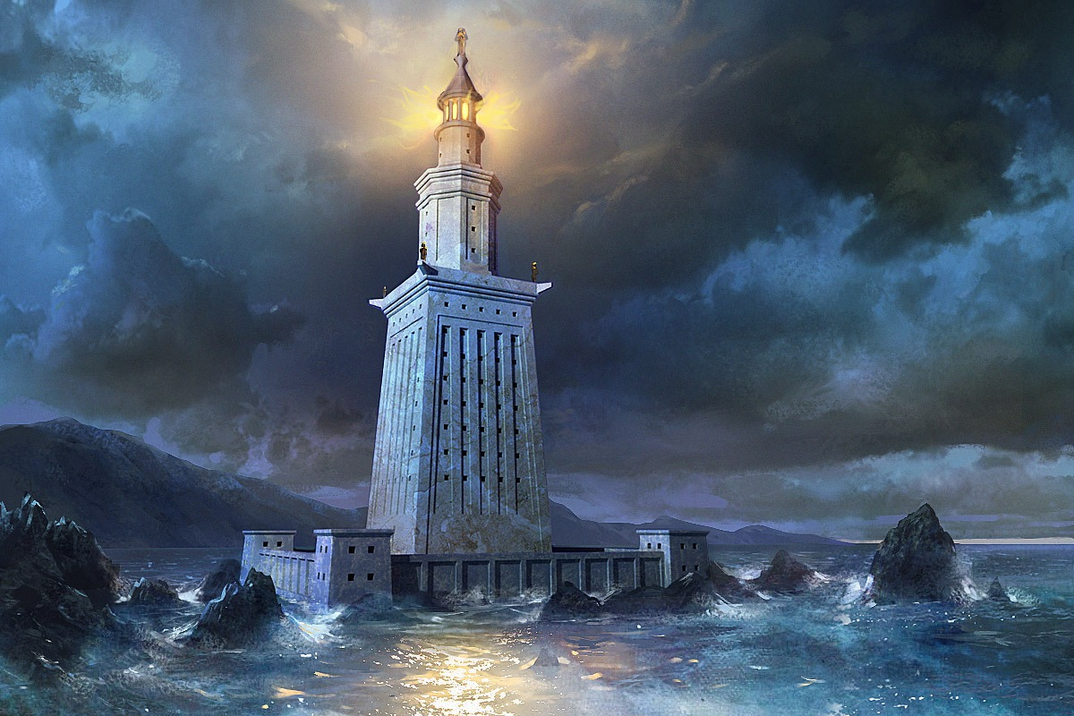 lighthouse of alexandria Pharos alexandria - fischer von erlach ()the lighthouse of alexandria is one of the wonders of the ancient world it was still a great tourist attraction well into the medieval period, and was visited by many travellers to the.