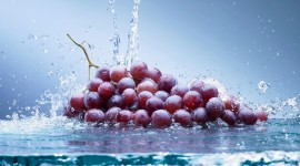 4K Grapes Photo