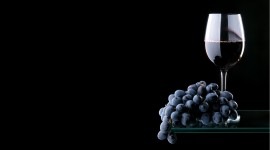 4K Grapes Photo Free