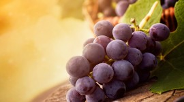 4K Grapes Wallpaper Download Free