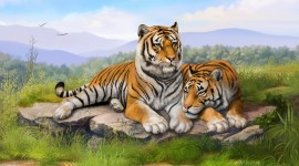 4K Tigris Image