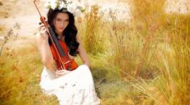 4K Violin Best Wallpaper