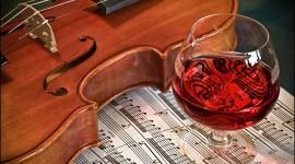 4K Violin Desktop Wallpaper