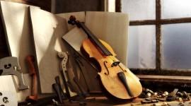 4K Violin Desktop Wallpaper HD