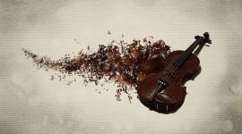 4K Violin Wallpaper Download Free