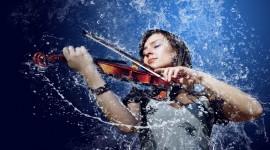 4K Violin Wallpaper For PC