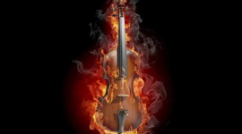 4K Violin Wallpaper HQ#2
