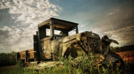 Abandoned Cars Wallpaper Download Free