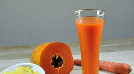 Carrot Juice Wallpaper Download Free