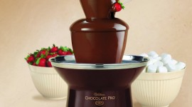 Chocolate Fountain Best Wallpaper