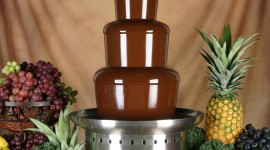 Chocolate Fountain Wallpaper
