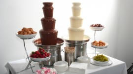 Chocolate Fountain Wallpaper Download
