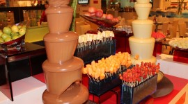 Chocolate Fountain Wallpaper For Desktop