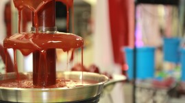 Chocolate Fountain Wallpaper HD