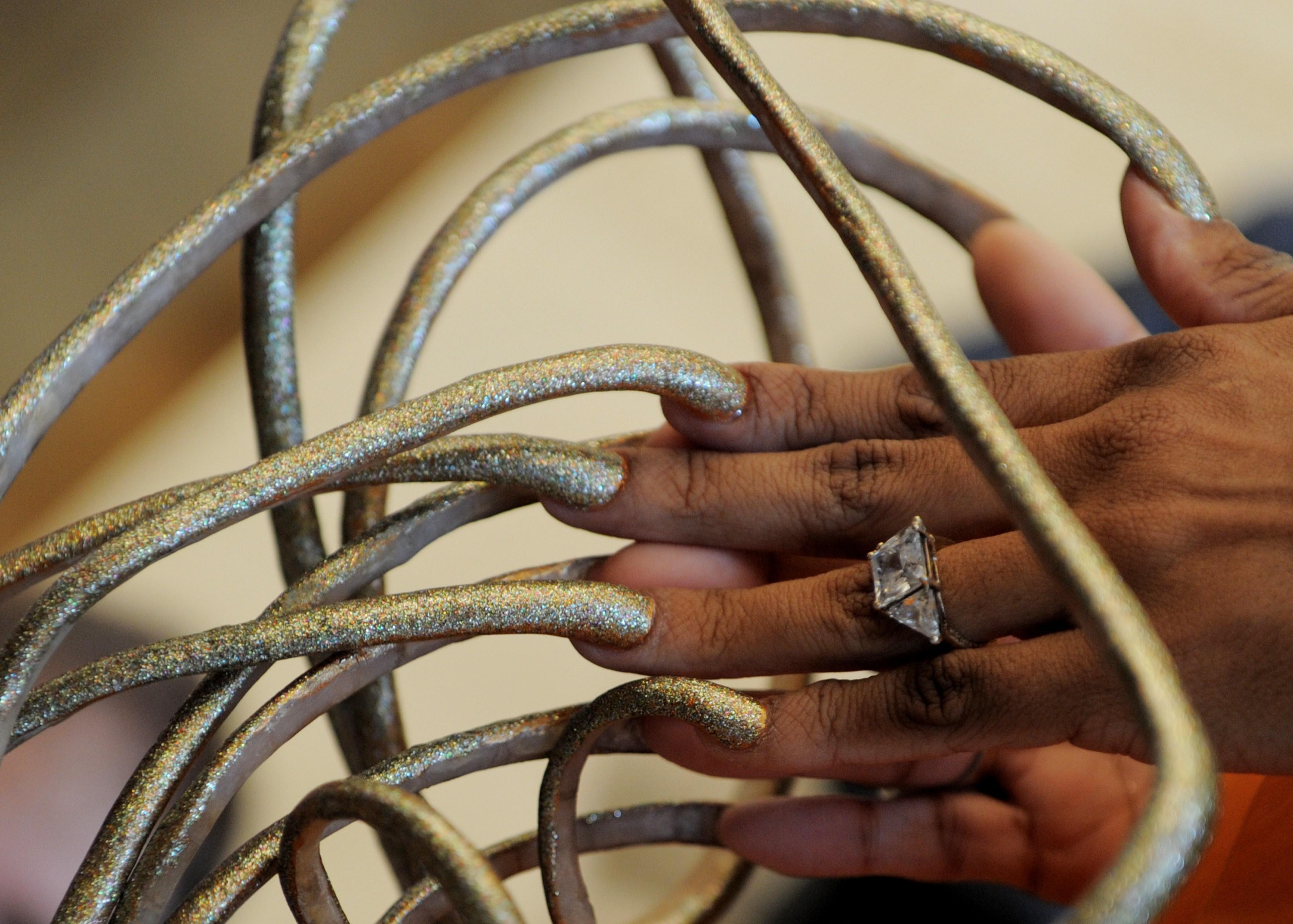 Самые красивые самые длинные ногти