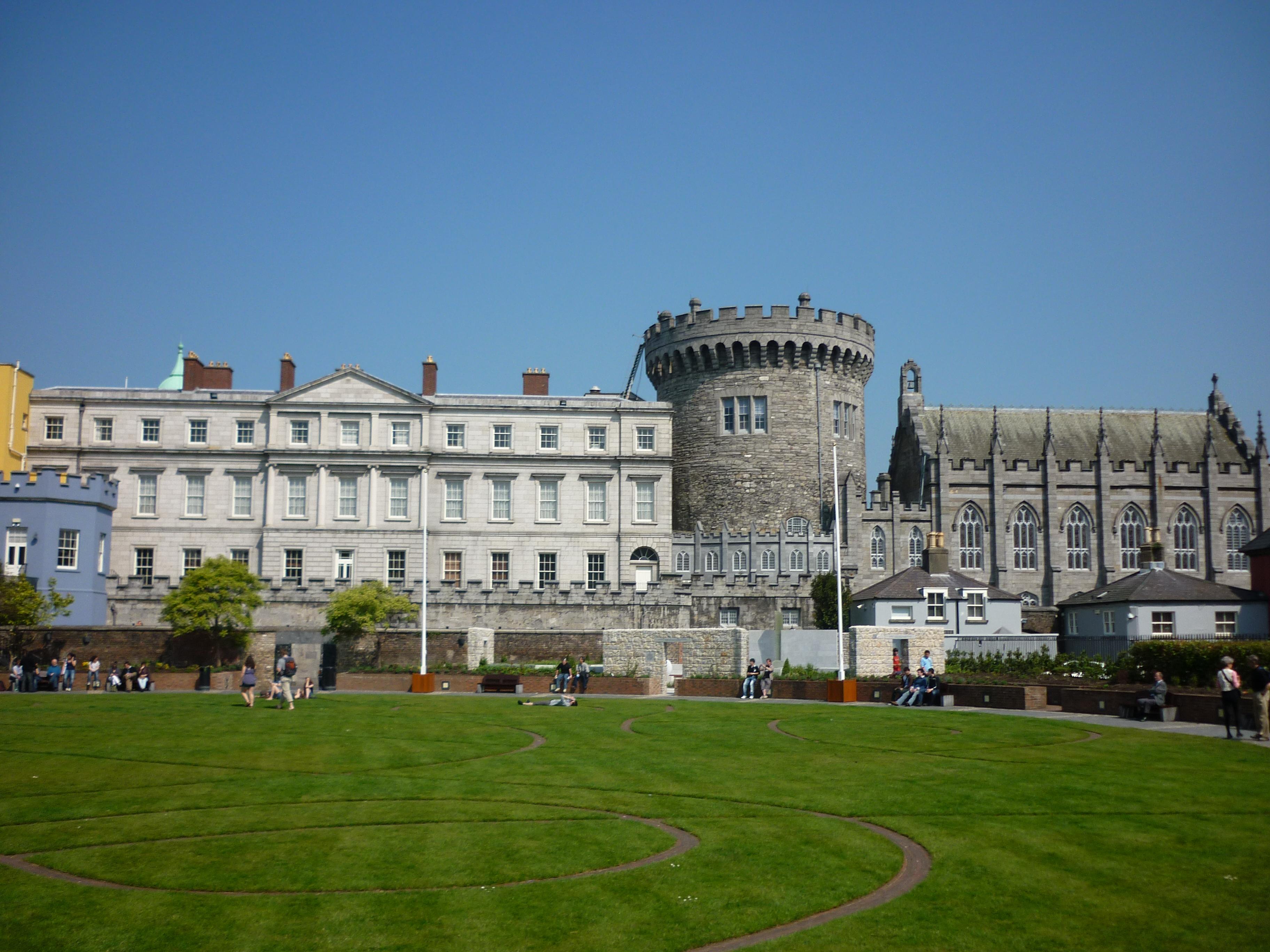 Photo Collection Dublin Castle Wallpaper