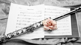 Flute Desktop Wallpaper For PC