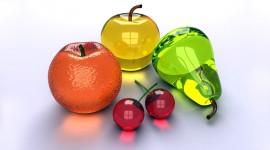 Glass Fruit Wallpaper Download Free