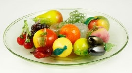 Glass Fruit Wallpaper For Desktop