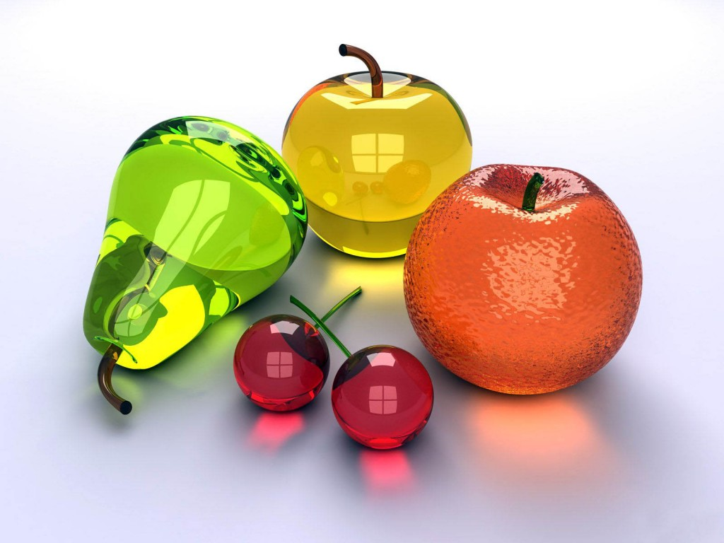 Glass Fruit wallpapers HD