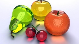 Glass Fruit Wallpaper Gallery