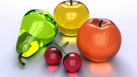 Glass Fruit wallpapers high quality