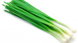 Green Onions Desktop Wallpaper