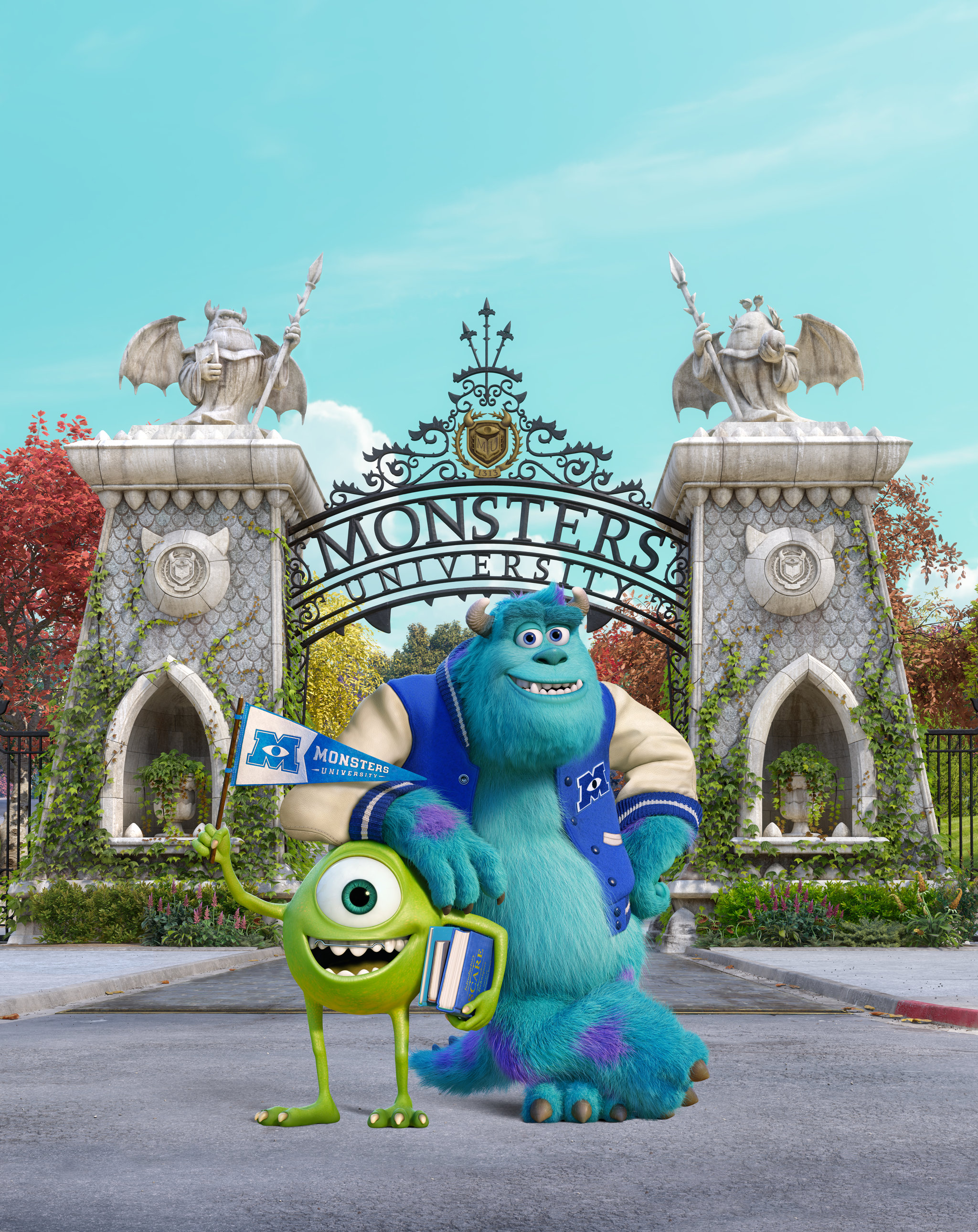 Wallpaper iphone monster university - Monsters University Wallpaper For Iphone