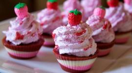 Oil Cupcakes Desktop Wallpaper HD