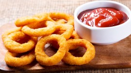 Onion Rings Desktop Wallpaper For PC