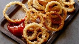 Onion Rings High Quality Wallpaper