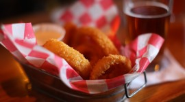 Onion Rings Wallpaper Download Free
